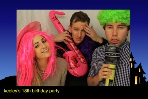 havinf fun in our photo booth liverpool